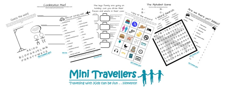 MiniTravellers - printable travel games