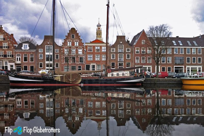 FlipFlopGlobetrotters - Netherlands - Haarlem canal houses