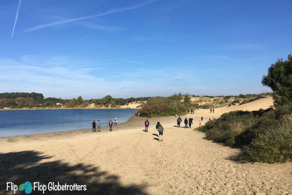 FlipFlopGlobetrotters - Netherlands - National Park Zuid-Kennemerland - Wed dune lake