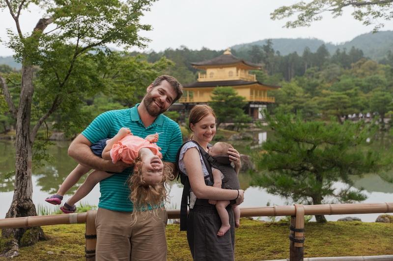 Kyoto, Japan with kids