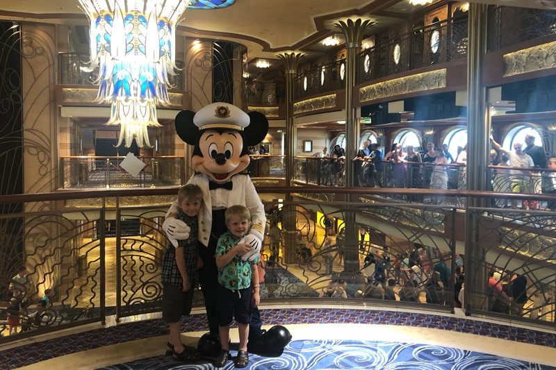 First Disney Cruise with kids
